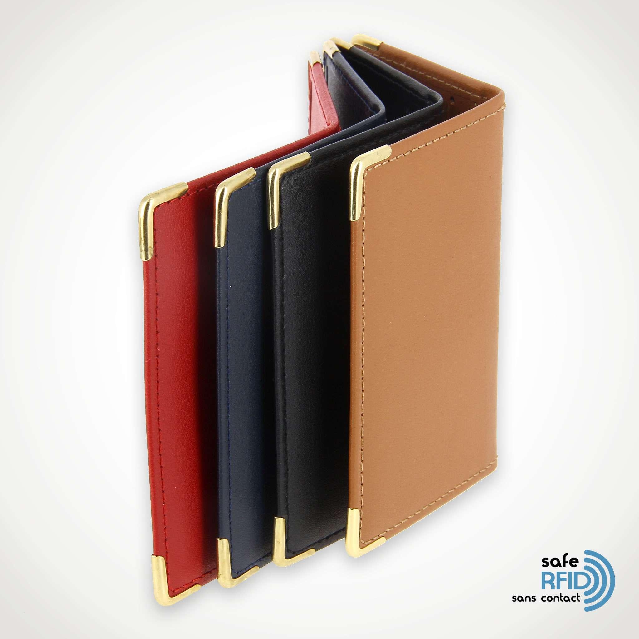 meilleurs prix nouveaux styles limpide en vue Porte carte RFID Protection carte paiement sans contact