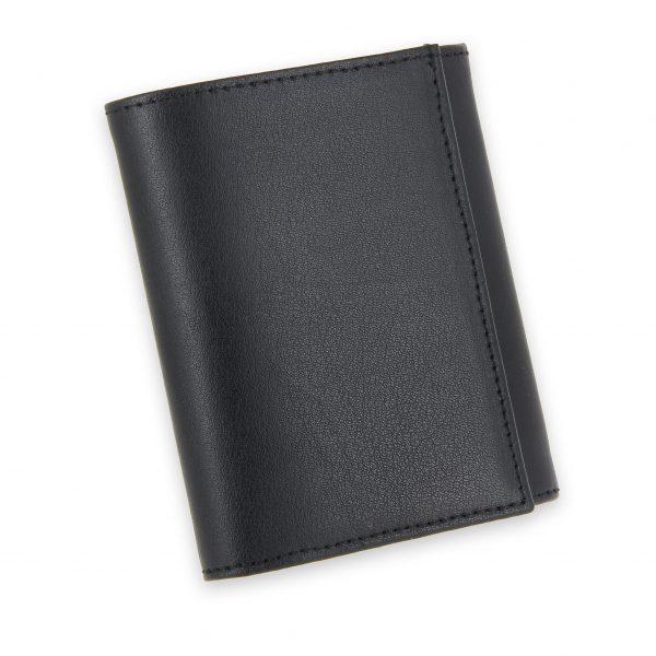 porte monnaie cuir a soufflet noir 2