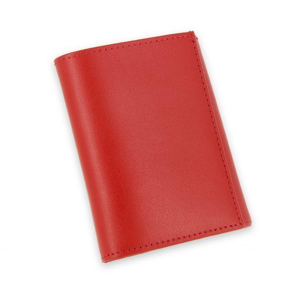 porte monnaie cuir a soufflet rouge 2
