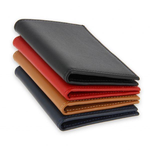porte-cartes cuir 4 cartes porte-billets cuir 4 couleurs