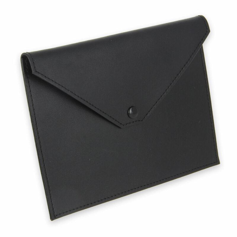 pochette documents cuir noir 1