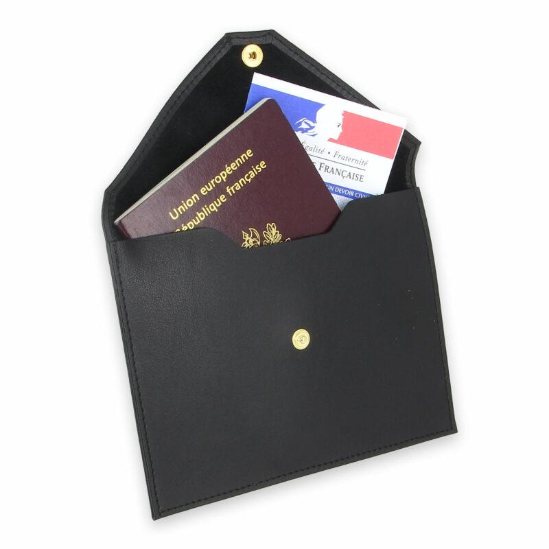 pochette documents cuir noir 3