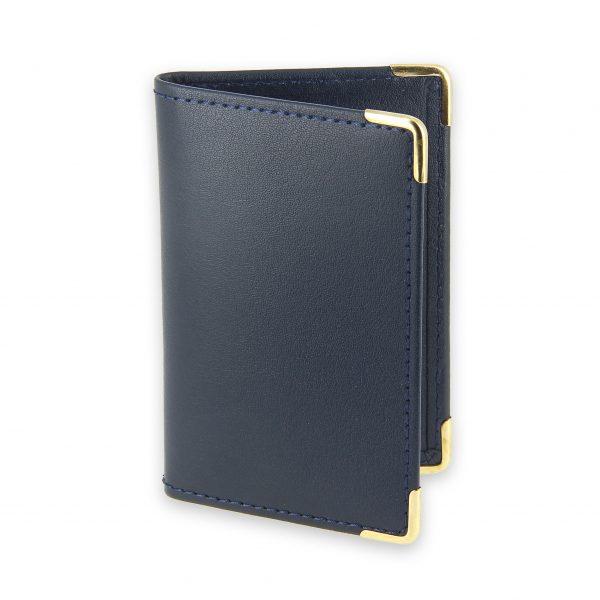 porte-cartes cuir marine 1