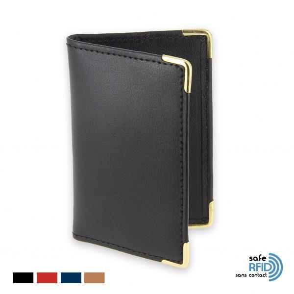 porte carte rfid protection carte paiement sans contact