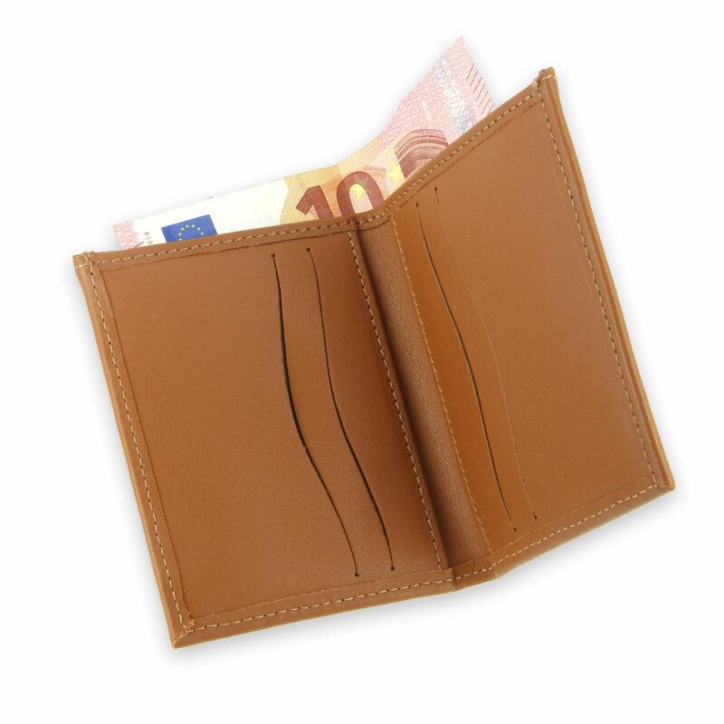 porte-cartes cuir 4 cartes porte-billets gold cuir 4