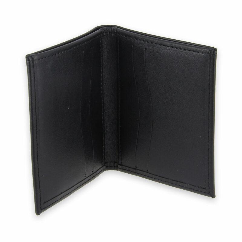 porte-cartes cuir 4 cartes porte-billets noir cuir 3