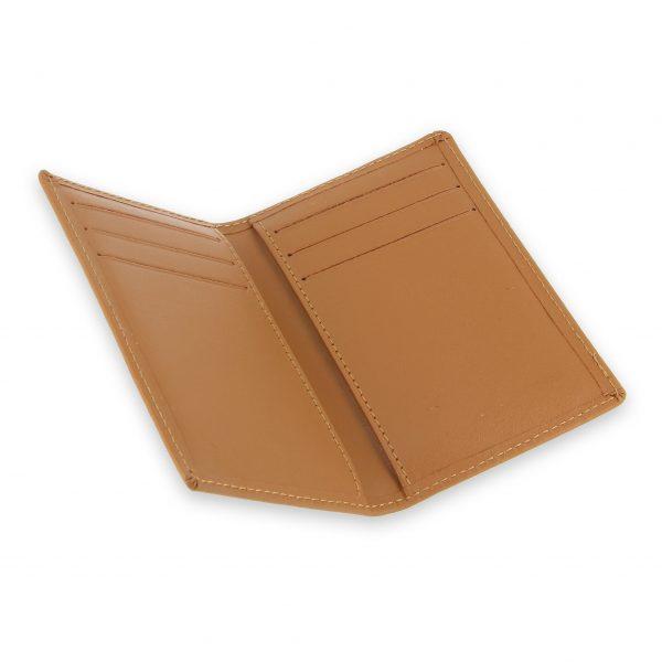 porte cartes 6 cartes cuir beige gold 3