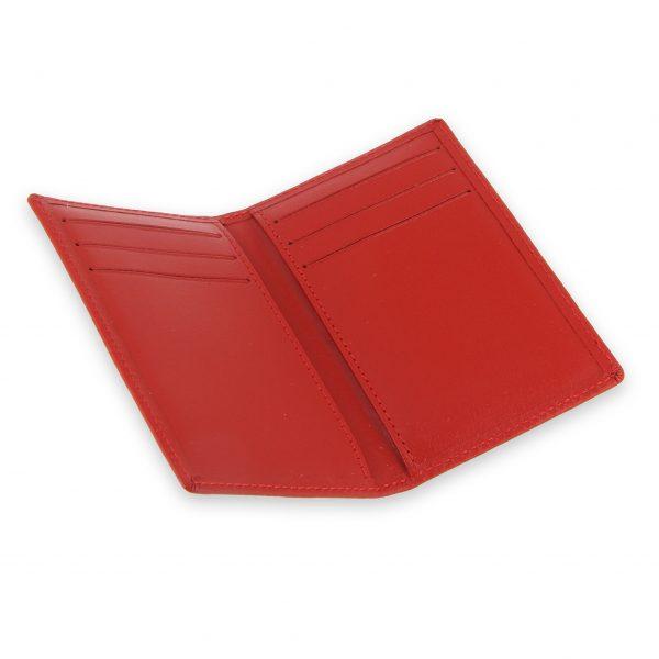 porte-cartes 6 cartes cuir rouge 3