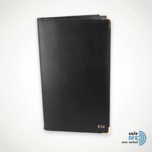 Porte-chéquier Portefeuille Cuir Protection carte paiement sans contact RFID