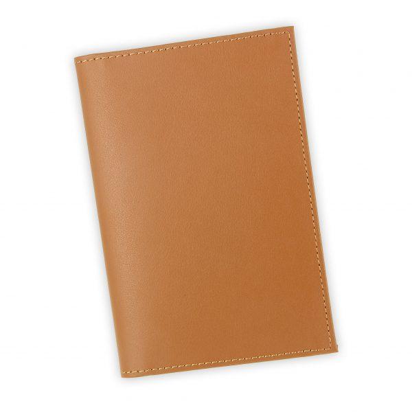 porte papiers vehicule cuir beige gold 1