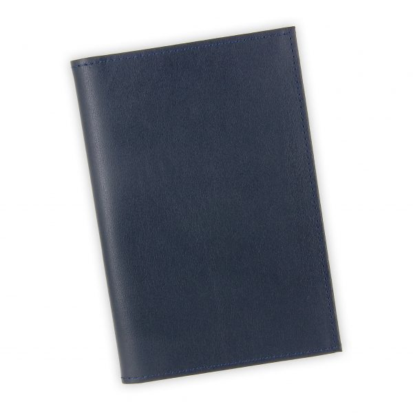 porte papiers vehicule cuir bleu marine 1