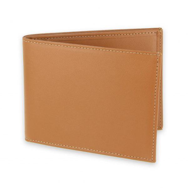 portefeuille cuir beige gold avec 6 cartes 1