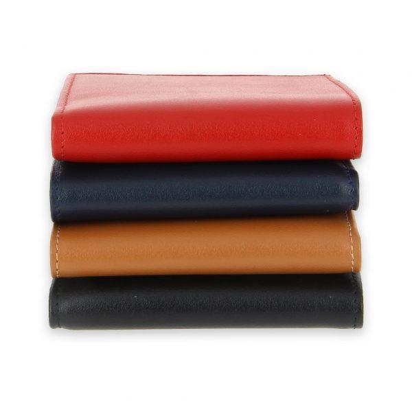 portefeuille cuir 4couleurs avec 6 cartes 3