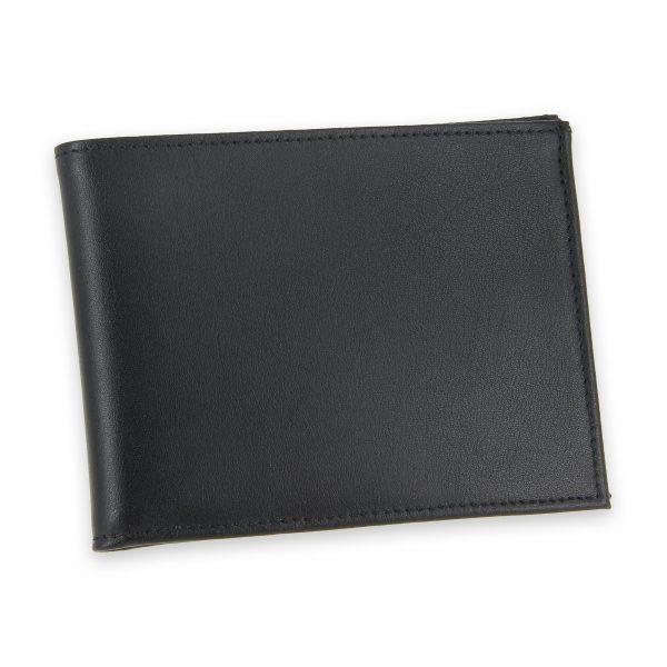 portefeuille cuir noir avec 6 cartes 2