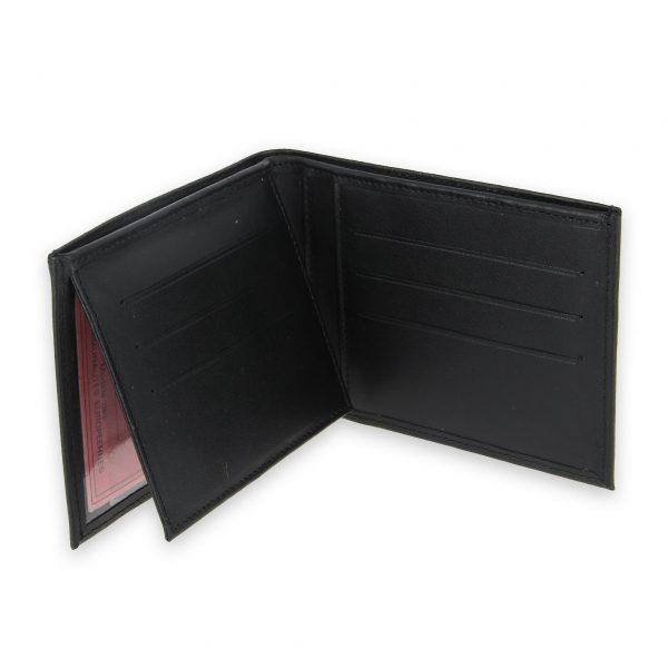 portefeuille cuir noir avec 6 cartes 4