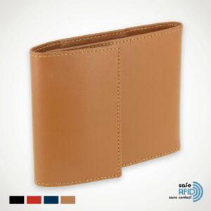 orte-chéquier Pliable Cuir Protection carte paiement sans contact RFID