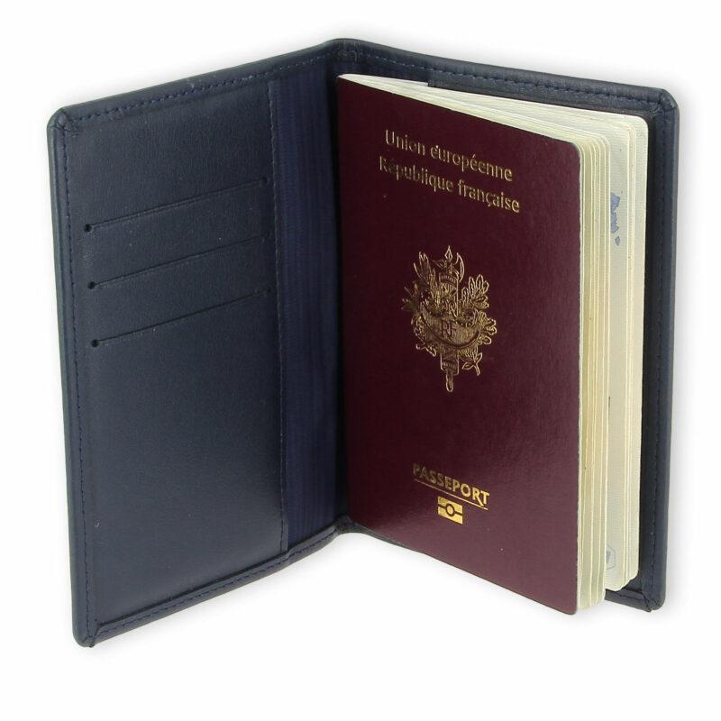 porte passeport cuir bleu bleu 2 2