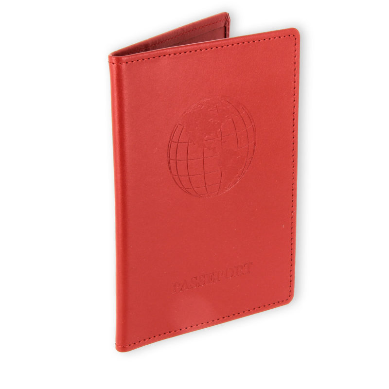 porte passeport cuir bleu rouge 2