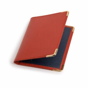 Porte-cartes rouge et marine