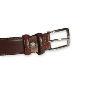 ceinture cuir homme marron Rome 1
