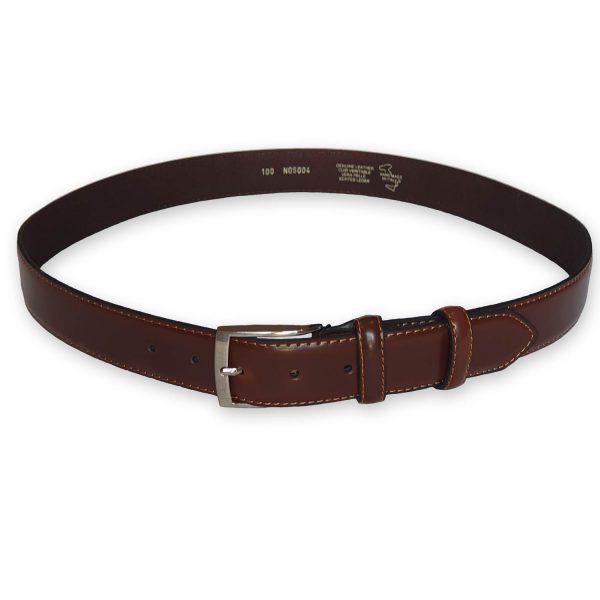 ceinture cuir homme marron Rome 3