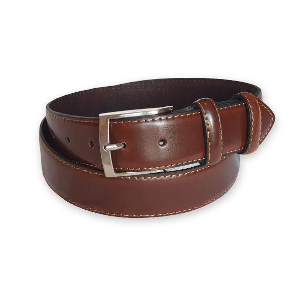 ceinture cuir homme marron Rome 4