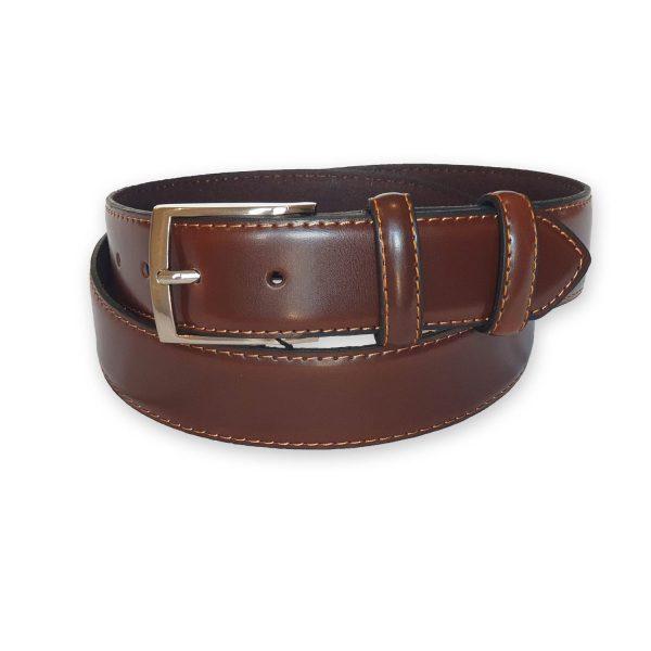 ceinture cuir homme marron Rome 5