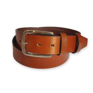 ceinture cuir homme marron santorin 4