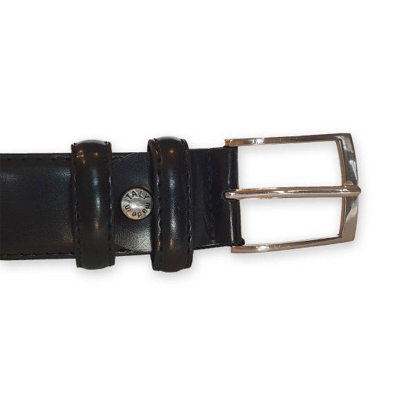 ceinture cuir homme noire Rome 1