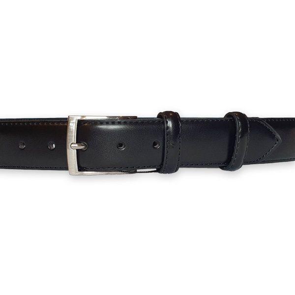 ceinture cuir homme noire Rome 3
