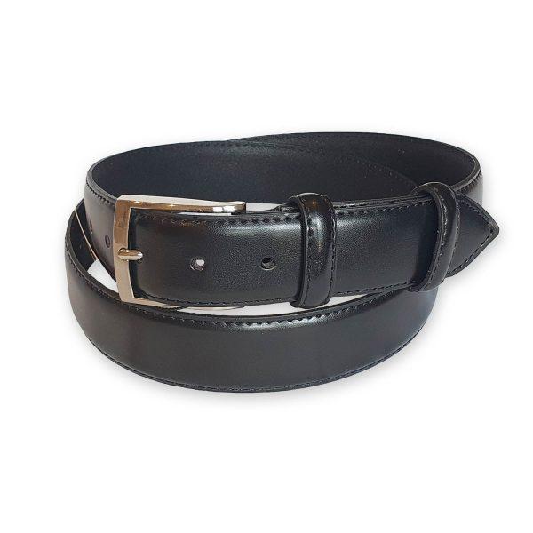 ceinture cuir homme noire Rome 5