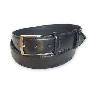 ceinture cuir homme noire Rome 6