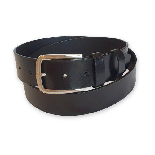 ceinture cuir noire homme Santorin 4