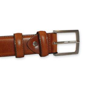 ceinture homme cuir marron Sienne 6